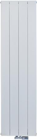 Thermrad Alusoft radiator wit van 180 cm hoog x 48 cm breed met 4 aluminium en 1273 Watt