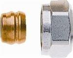 15mm knelkoppeling, Heimeier aansluit koppeling CV / koper 15mm - 3/4
