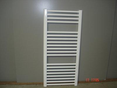 Designradiator in het wit 95 cm hoog x 45 cm breed met 452 Watt