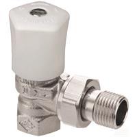 Bedieningsknop Heimeier mikrotherm haaks model 1/2