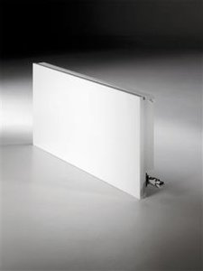 Jaga Linea plus wandmodel wit 95 cm hoog x 60 cm lang en type 21 met 2290 Watt