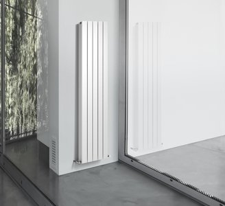 Radiator 40 Breed.Thermrad Alustyle Wit Radiator Van 203 Cm Hoog X 40 Cm Breed Met 5 Aluminium En 1675 Watt