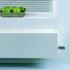 Jaga mini wandmodel in het wit van 13 cm hoog x 180 cm lang en type 05 met 592 Watt_